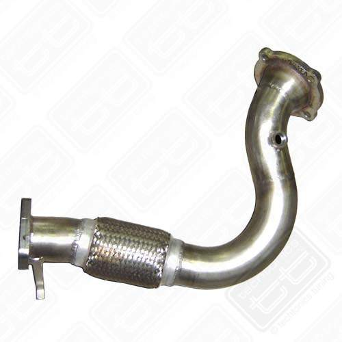 mk1 stainless downpipe s p automotive. Black Bedroom Furniture Sets. Home Design Ideas