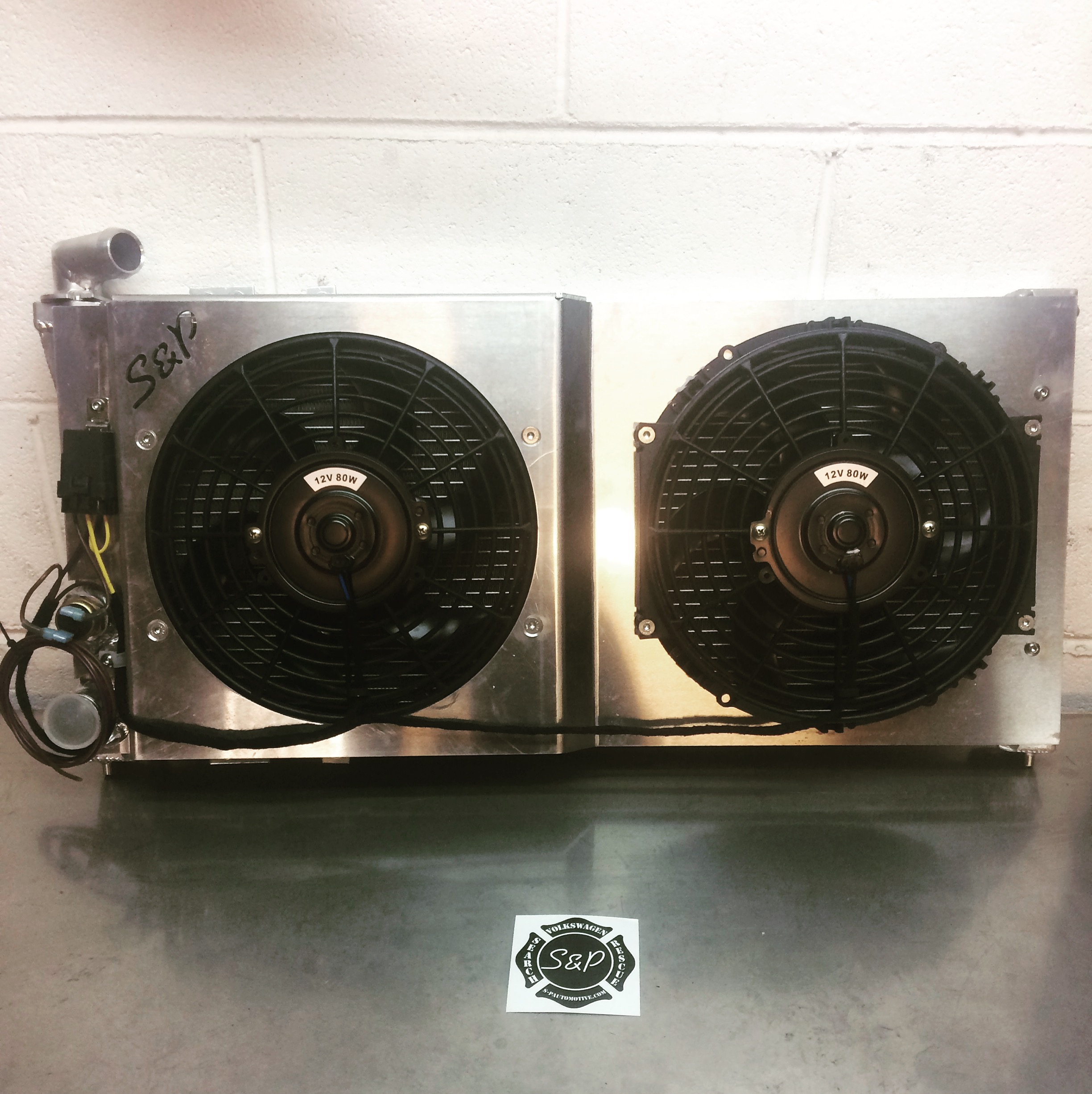 Sp Radiator Options Fan Controls Shrouds Automotive Vw Switch Wiring
