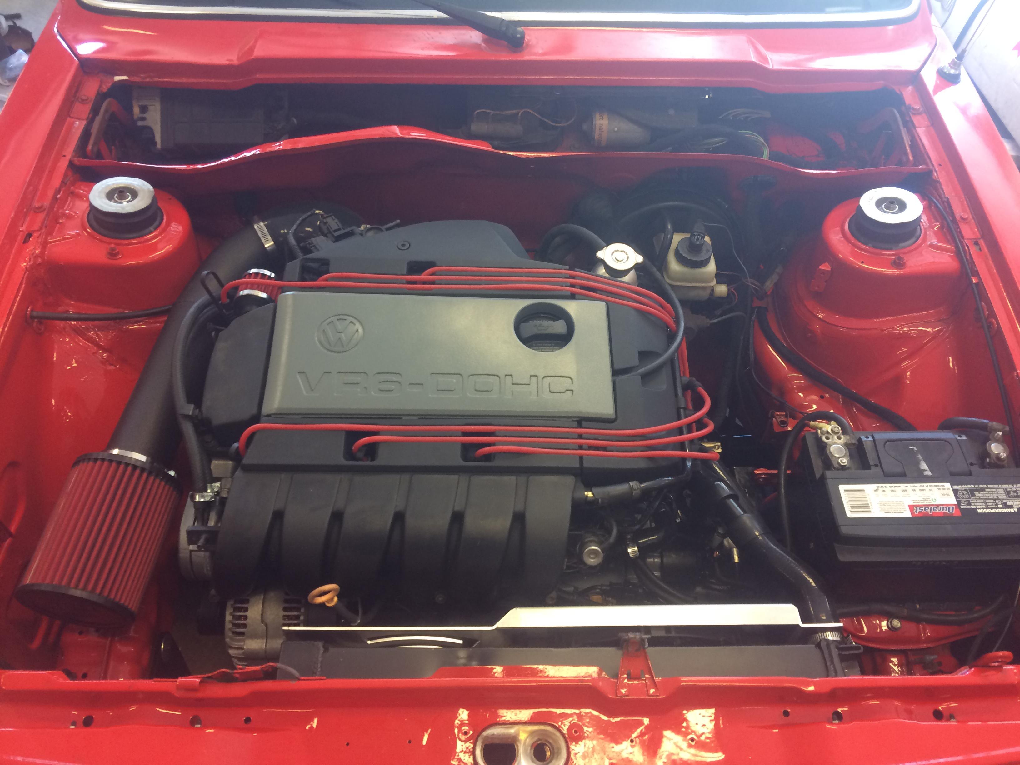 Mk1 Mk2 & MK3 VR6 Hidden MAF Intake Pipe and Filter